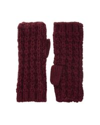 French Connection - Purple Midnight Tassel Arm Warmers - Lyst