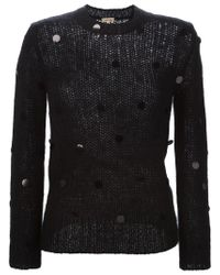 P.A.R.O.S.H. - Black 'lovly' Sweater - Lyst