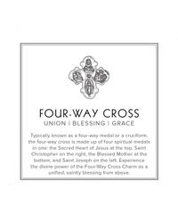 ALEX AND ANI - Metallic Fourway Cross Mini Expandable Wire Ring Precious Metal Collection - Lyst