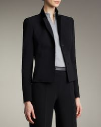 Akris | Black Short Evening Jacket | Lyst