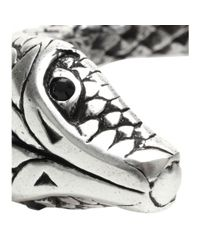 Saint Laurent - Metallic Serpent Cuff - Lyst
