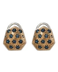 Stephen Dweck | Metallic Small Gold Galactical Button Earrings | Lyst