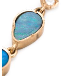 Irene Neuwirth | Blue 18kt Rose Gold Opal Drop Earrings | Lyst