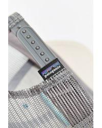 Patagonia | White Line Logo Lo-pro Trucker Hat for Men | Lyst