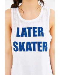 Chaser - White Later Skater Tank Top - Lyst