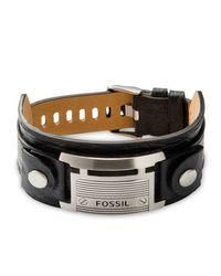 Fossil | Black Jf84816040 Mens Bracelet for Men | Lyst