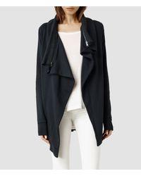 AllSaints | Blue Dahlia Sweatshirt | Lyst