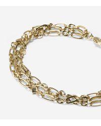 Cole Haan | Metallic 3 Row Line Bracelet | Lyst