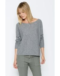 Joie - Gray Baptista Sweater - Lyst