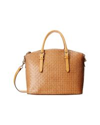 Dooney & Bourke | Natural Claremont Woven Domed Satchel | Lyst