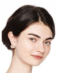 kate spade new york - Metallic Dainty Sparklers Ear Jacket - Lyst