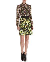 Icb Black Brush Stroke Skirt