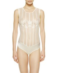 La Perla | Natural Bodysuit | Lyst