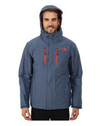 The North Face Blue Straight-shot Jacket for men