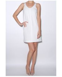Rag & Bone - White Chieftan Dress - Lyst