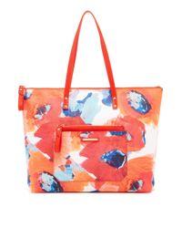 Trina Turk | Orange Poolside Shopper | Lyst