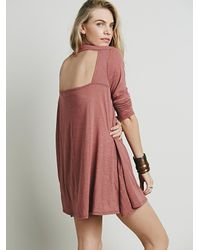 Free People | Pink Elise Dress | Lyst