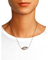 Monique Péan - Metallic Diamond, Meteorite & Gold Necklace - Lyst