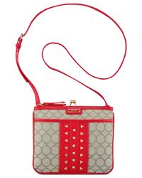 Nine West | Red 9's Jacquard Jaya Crossbody | Lyst