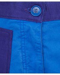 Acne Studios - Blue Kitty Gd Patch Pocket Shorts - Lyst
