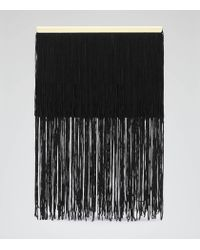 Reiss | Black Callisto Fringed Box Bag | Lyst