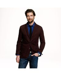 J.Crew - Red Preorder Cotton Workwear Sportcoat for Men - Lyst