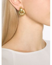 Vaubel - Metallic Small Doorknocker Clip Earrings - Lyst