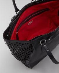 Christian Louboutin | Beige Justine Spike Tote Bag | Lyst