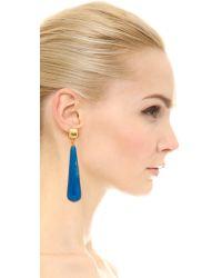 Kenneth Jay Lane | Drop Earrings - Light Blue | Lyst