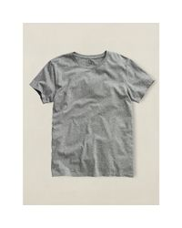 RRL | Gray Crewneck T-shirt for Men | Lyst