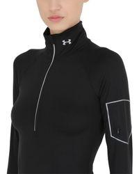 Under Armour | Black Fly Fast Half Zip Running Sweatshirt | Lyst