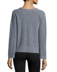 J Brand - Blue Burlington Long-sleeve Sweater - Lyst