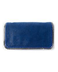 Stella McCartney - Blue Falabella Shoulder Bag - Lyst
