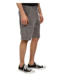 Billabong - Gray Scheme Cargo Walkshort for Men - Lyst