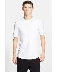 Helmut Lang - White 'core' Jersey T-shirt for Men - Lyst