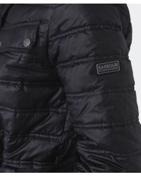 Barbour | Black Baffle Quilted Down Jacket | Lyst