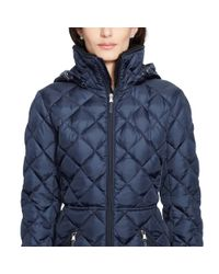 Ralph Lauren | Blue Detachable-hood Down Coat | Lyst
