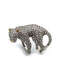 Alexis Bittar - Metallic Moonlight Panther Ring - Lyst