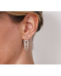 Jenny Bird - Metallic Indra Huggies Sterling-Silver Earrings - Lyst