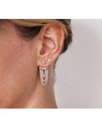 Jenny Bird | Metallic Indra Huggies Sterling-Silver Earrings | Lyst