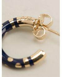 Aurelie Bidermann | Blue 'Rive Gauche' Earrings | Lyst