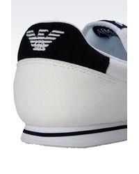 Armani Jeans - Gray Sneaker for Men - Lyst