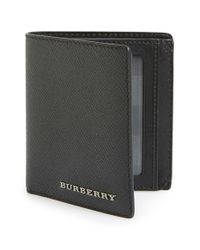 Burberry | Black 'rowan' Wallet for Men | Lyst
