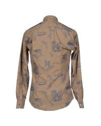 Barena - Natural Shirt for Men - Lyst