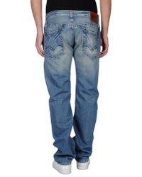 Replay | Blue Denim Pants for Men | Lyst