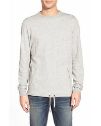 Ezekiel | Gray 'gunner' Crewneck Pullover for Men | Lyst