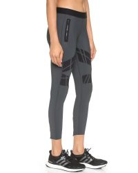 Ultracor - Gray Moto Contour Leggings - Graphite - Lyst