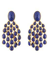 Aurelie Bidermann | Blue 'cherokee' Earrings | Lyst