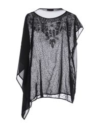 Lafty Lie - Black Blouse - Lyst