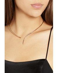Diane Kordas - Metallic 18-Karat Rose Gold Necklace - Lyst